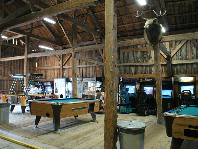 Arcade at White Mountains, NH camping resort