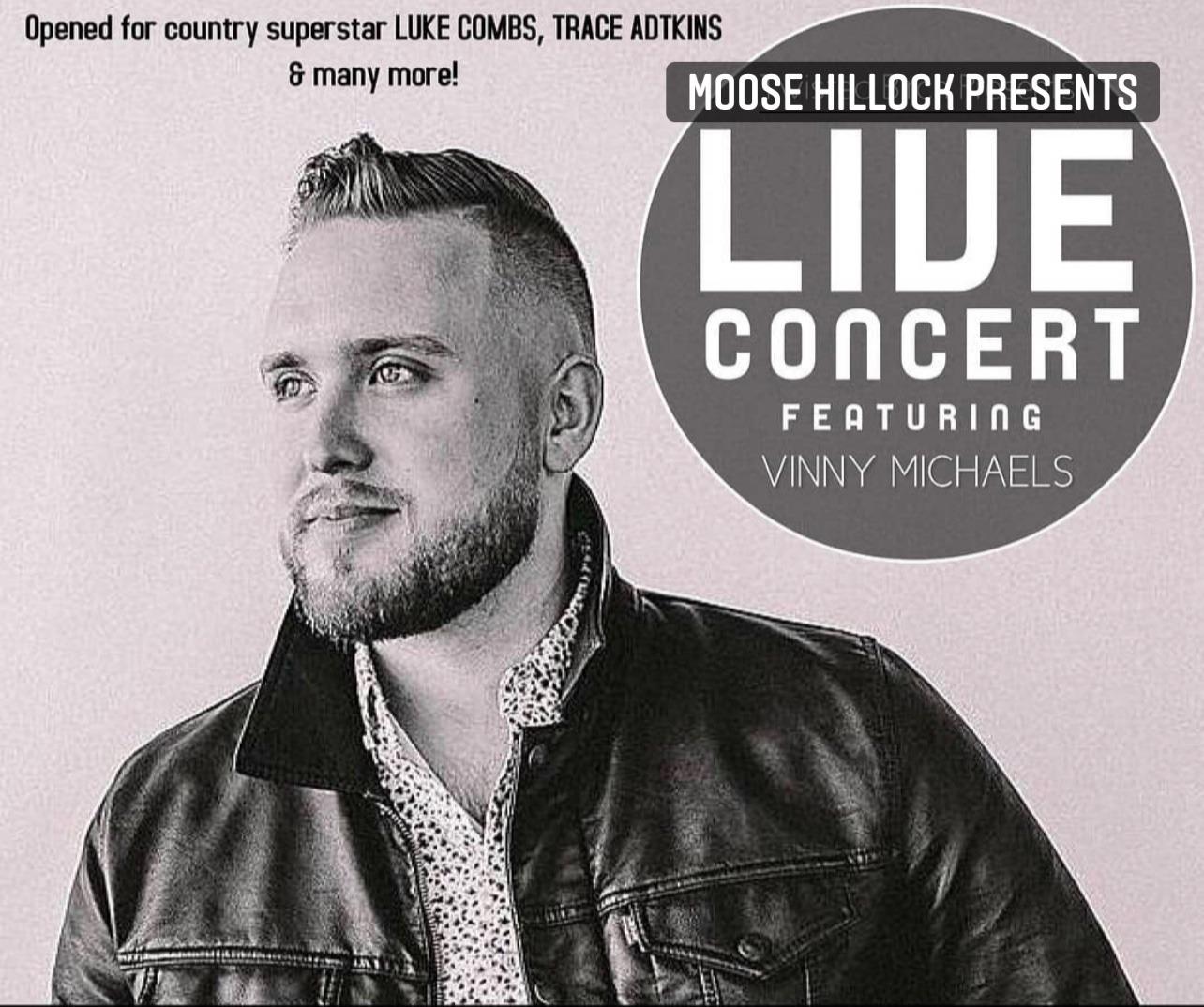 Concert Poster Vinny Micheals